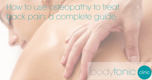 osteopathy treatment back pain
