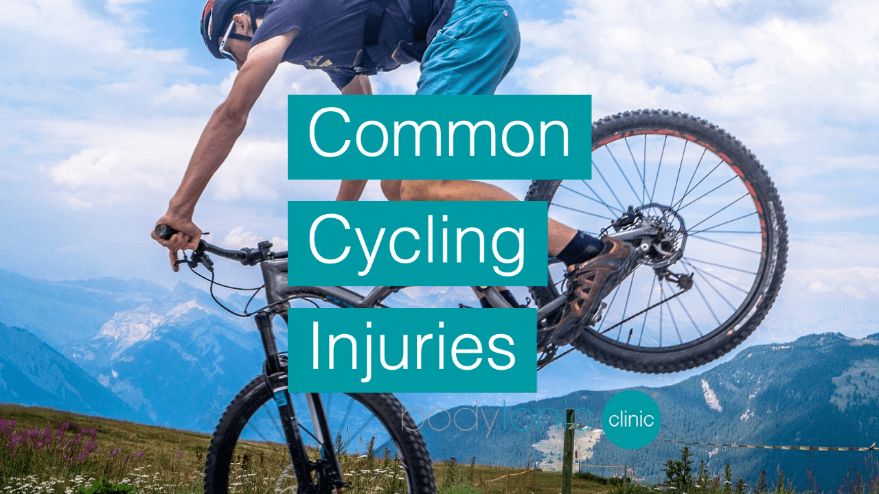 Common Cycling Injuries bodytonic clinic London