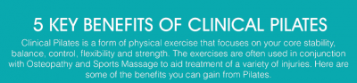 5 Key Benefits of Clinical Pilates Banner clinic