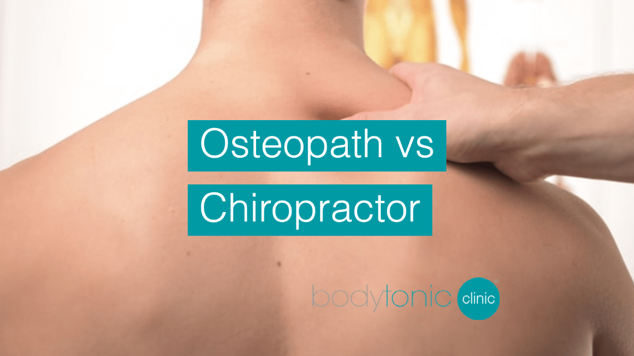 Osteopath or Chiropractor - What's the difference