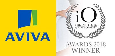 AVIVA Insurance Osteopathy & Massage at bodytonic clinic London SE16 SE8 E1W E15 E14 SE1 SE14 SE20 London