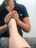 Checkup Chiropodist Podiatrist Foot Health Professional FHP