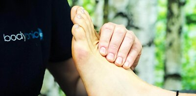 Chiropodist Podiatrist Foot Health Professional FHP menu