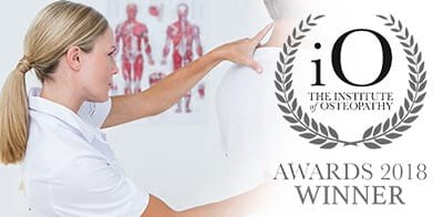 IO Winner Osteopathy Treatments in London bodytonic clinic
