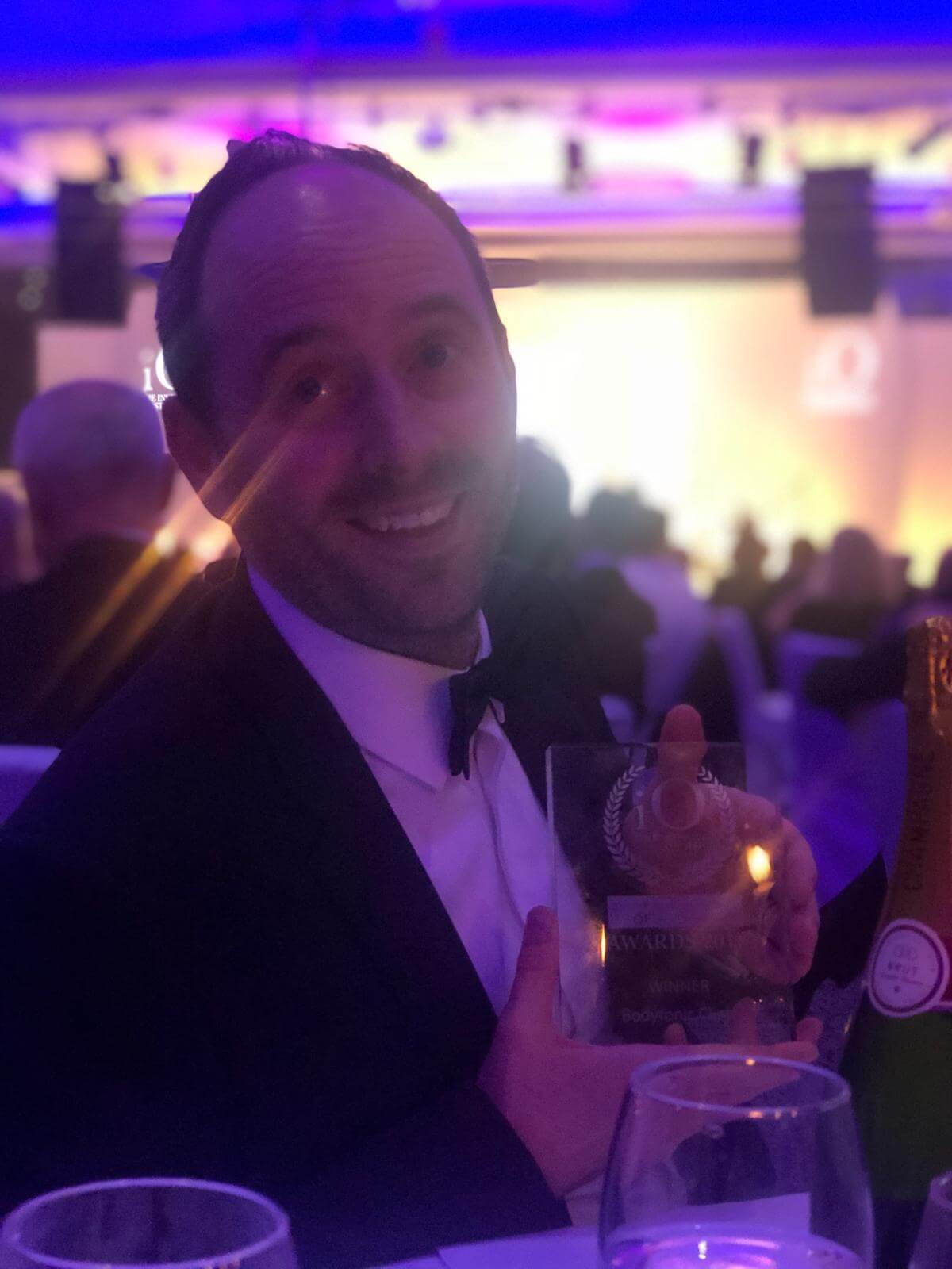 James Gill Clinic Director Winner of The Institute of Osteopathy Practice of the Year 2018
