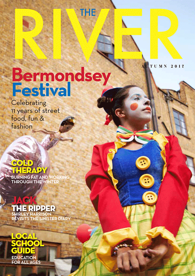 The River Magazine bodytonic clinic Bermondsey Festival Cover