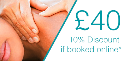 30 Minute Massage pricing at bodytonic clinic