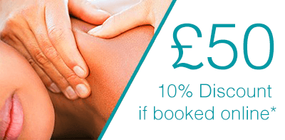45 Minute Massage pricing at bodytonic clinic