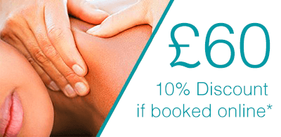 60 Minute Massage pricing at bodytonic clinic