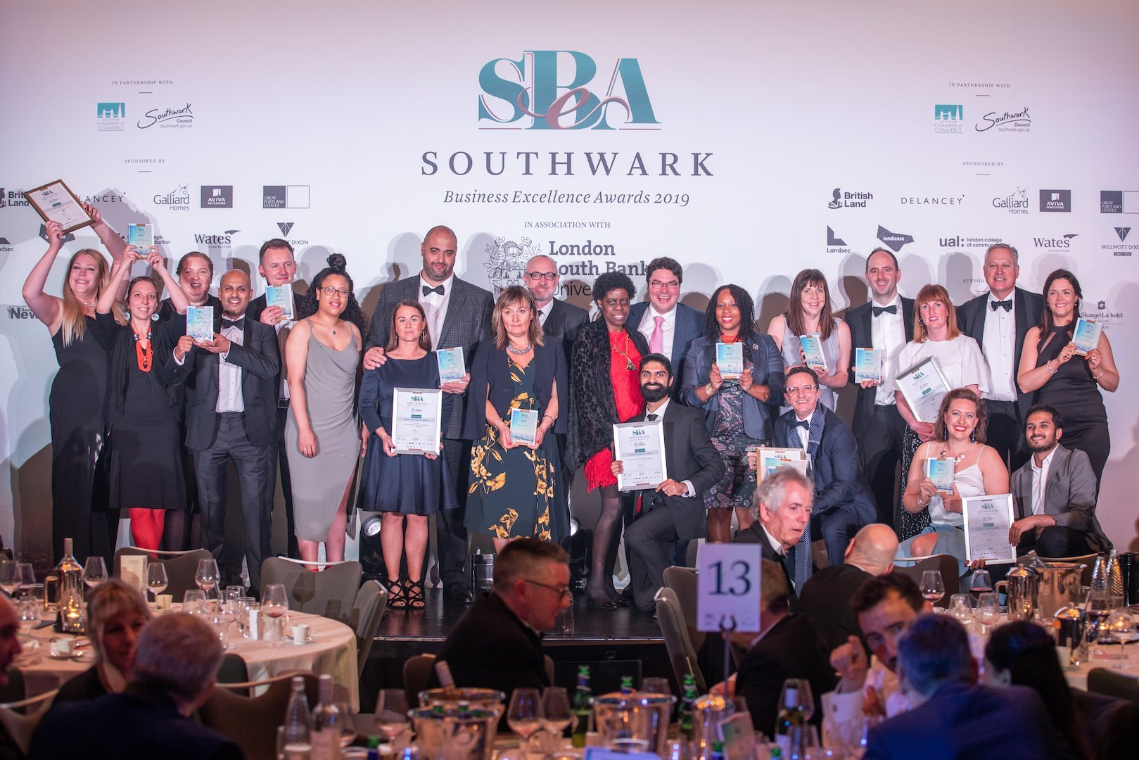 Southwark Business Excellence Awards 2019 Winners