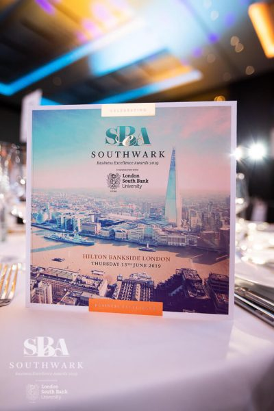 Southwark Business Excellence Awards 2019 SBEA