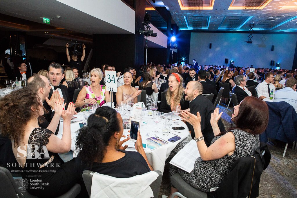 Southwark Business Excellence Awards 2019 SBEA Commended in Customer Service