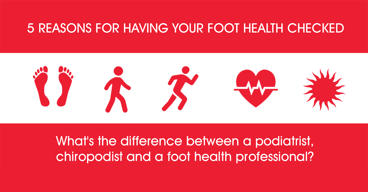 Foot Health, Podiatry & Chiropody at bodytonic clinic SE16 E1W E15 E14 SE8 SE1 SE14 SE20 London- 5 REASONS FOR HAVING YOUR FOOT HEALTH CHECKED