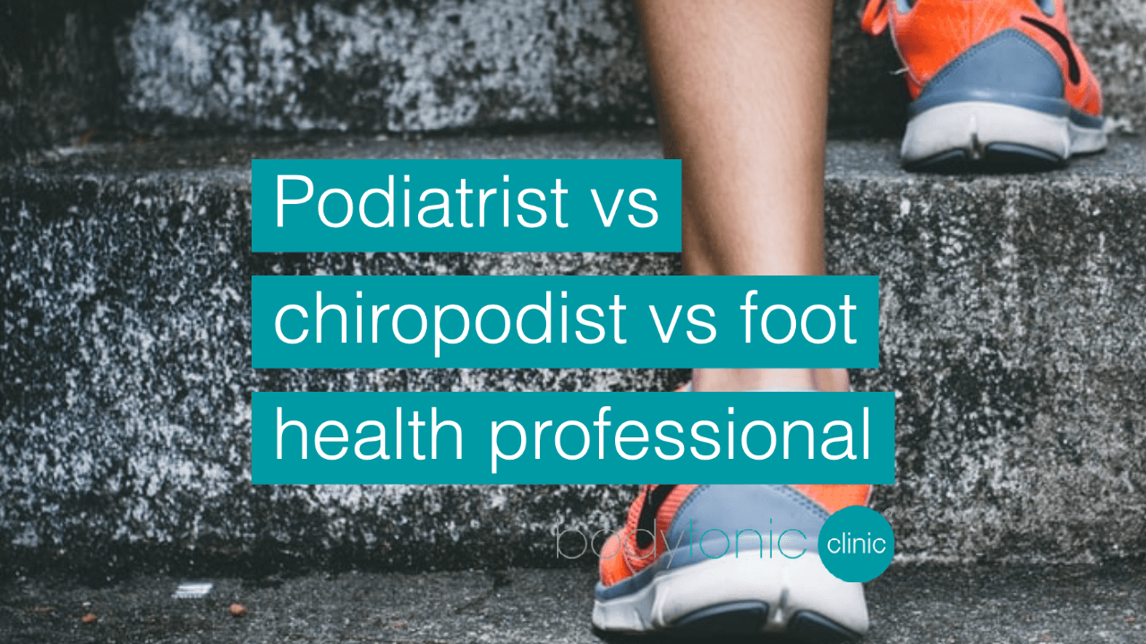 Podiatrist, chiropodist & a Foot Health Practitioner FHP