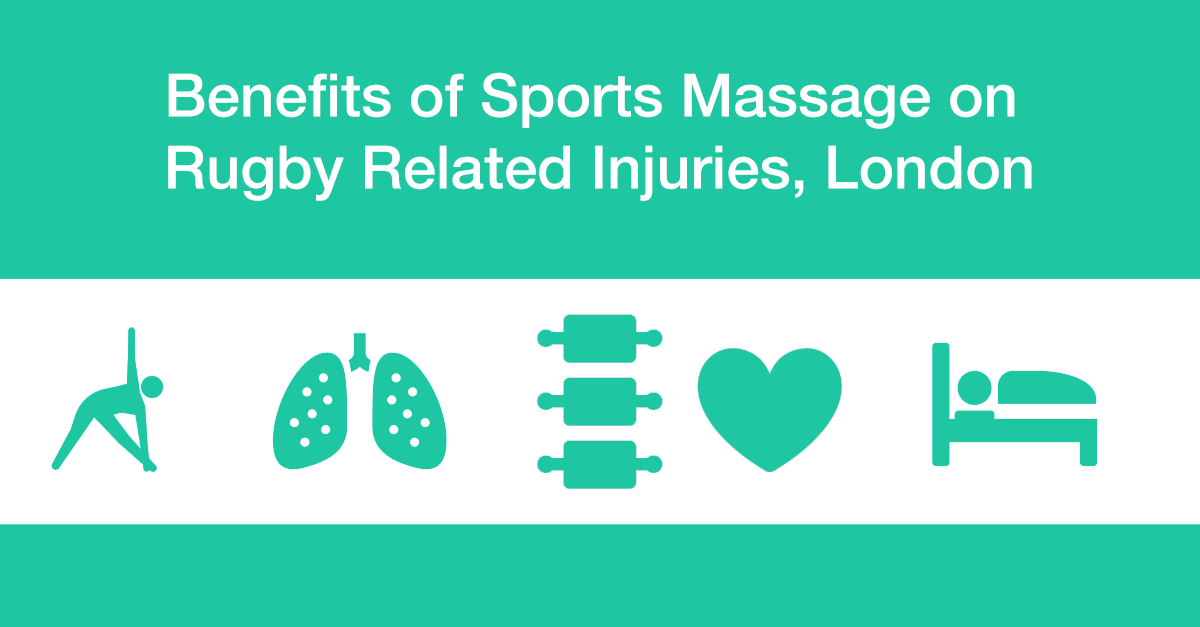 Benefits of Sports Massage on Rugby Related Injuries, London bodytonic clinic
