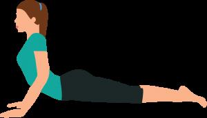 Sciatica sciatic pain Yoga Pilates exercise cobra extension Osteopath Bodytonic clinic London