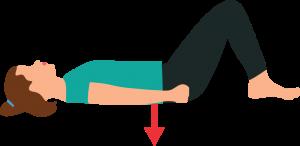 Sciatica sciatic pain Yoga Pilates exercise pelvic tilt Osteopath Bodytonic clinic London