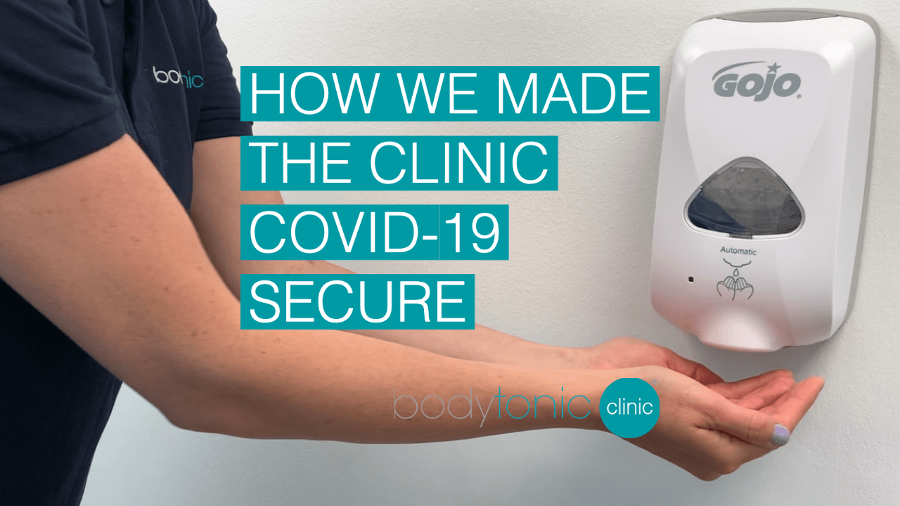 COVID-19 Secure at bodytonic clinic london