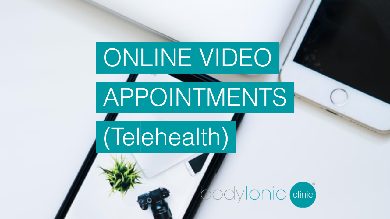 bodytonic telehealth Video Appointments in London