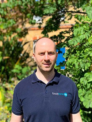 James GIll bodytonic clinic Osteopath London