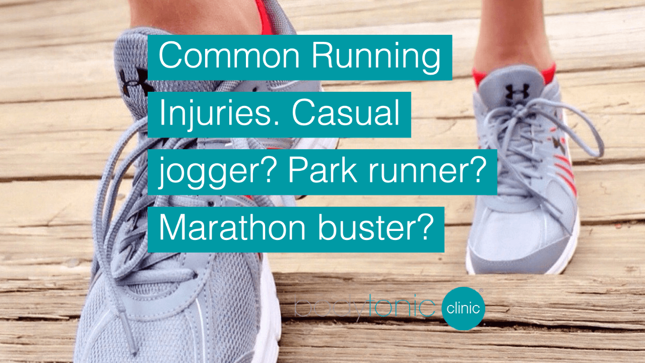 Common Running Injuries at bodytonic clinic London