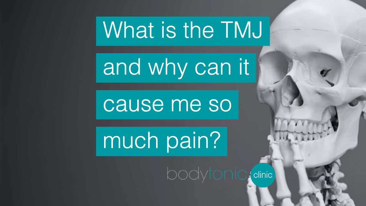 Temporomandibular Joint (TMJ) treatment at bodytonic clinic