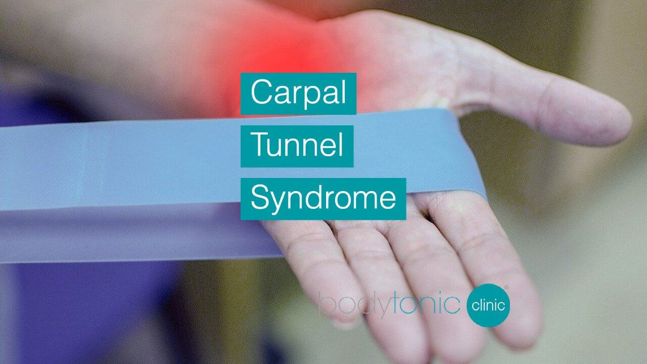 Carpal Tunnel Syndrome bodytonic clinic London