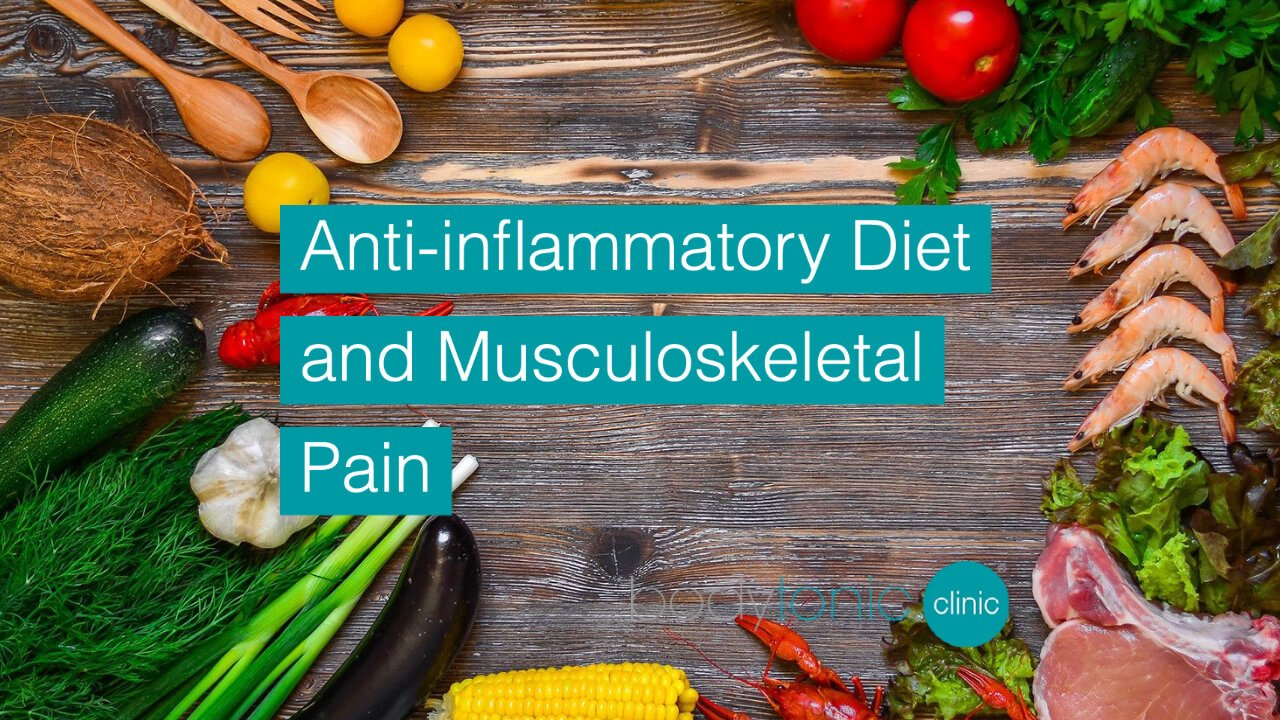 Can an Anti-inflammatory Diet Help Reduce Musculoskeletal Pain bodytonic clinic SE16 London
